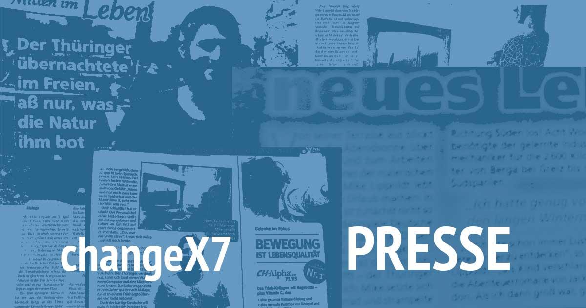 Presseinfo changeX7 / Mike Lippoldt